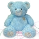 Furry Bear Blue B25491E