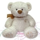 Furry Bear Cream B25491E
