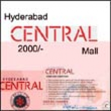 Hyderabad Central Mall Gift Voucher Rs. 2000