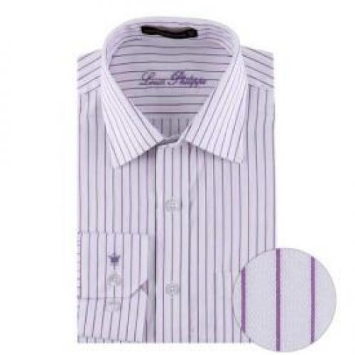 Louis Philippe Formal Shirt Purple Louis Philippe Formal Shirts